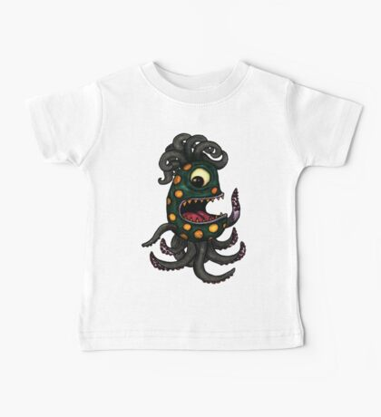 Happy Sea Monster Baby Tee