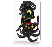 Happy Sea Monster Greeting Card