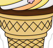 A Midsummer Ice-Cream Sticker
