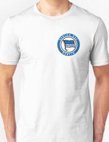 Hertha BSC Badge - Bundesliga Unisex T-Shirt