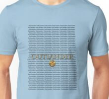 Outlander multiple title and thistle.  Unisex T-Shirt