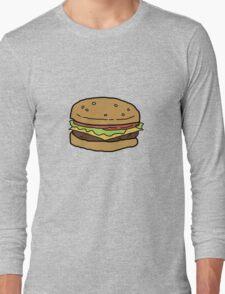 Bobs Burgers- Burger Long Sleeve T-Shirt