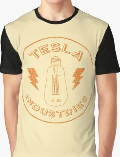 Tesla Industries Graphic T-Shirt