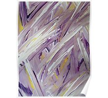 Purple Abstract II Poster