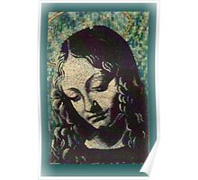 Madonna of the Rocks.   Poster