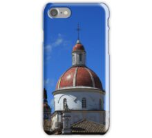Statue and Dome on a Church iPhone Case/Skin