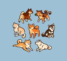 shibes in blue Unisex T-Shirt