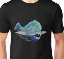 Blue to the bone (for dark backgrounds) Unisex T-Shirt
