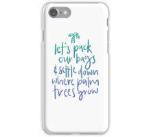 Swing Life Away iPhone Case/Skin