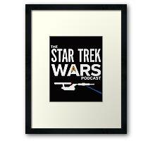 Star Trek Wars Podcast Logo (Transparent Background) Framed Print