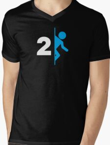 Portal  Mens V-Neck T-Shirt
