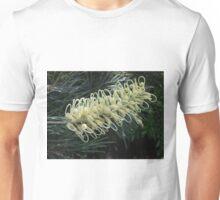 White Grevillea Unisex T-Shirt