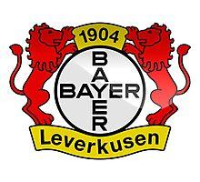 Bayer 04 Leverkusen Badge - Bundesliga Photographic Print