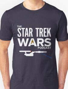Star Trek Wars Podcast Logo (Transparent Background) Unisex T-Shirt