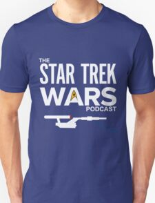 Star Trek Wars Podcast Logo (Transparent Background) Unisex T-Shirt