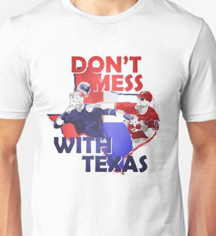 Texas Rangers Punch Unisex T-Shirt