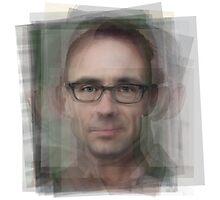 Chuck Palahniuk Portrait Photographic Print