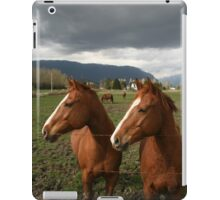 Two Horse Power iPad Case/Skin