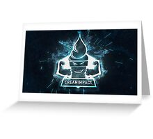 Esport Creami thingy gamer Greeting Card