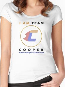 I Am Team Cooper Women's Fitted Scoop T-Shirt