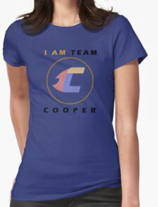 I Am Team Cooper Womens Fitted T-Shirt
