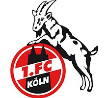 1. FC Köln Badge - Bundesliga Photographic Print