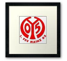 FSV Mainz 05 Badge - Bundesliga Framed Print