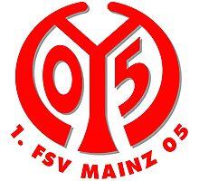 FSV Mainz 05 Badge - Bundesliga Photographic Print
