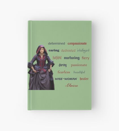 Outlander/Claire is... Hardcover Journal