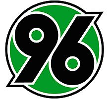 Hannover 96 Badge - Bundesliga Photographic Print