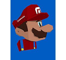 Jumpman Mario Photographic Print