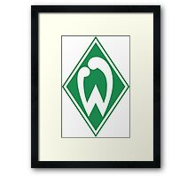 SV Werder Bremen Badge - Bundesliga Framed Print