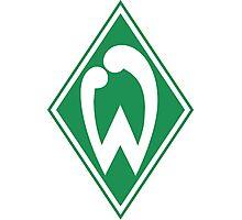 SV Werder Bremen Badge - Bundesliga Photographic Print