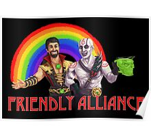Friendly Alliance Poster