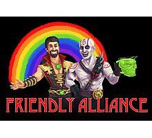 Friendly Alliance Photographic Print