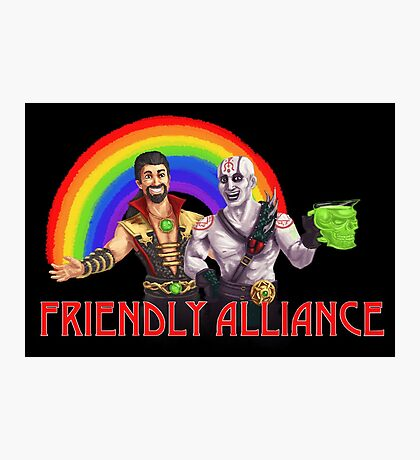 Friendly Alliance Photographic Print