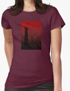The Road to Mount Doom Womens Fitted T-Shirt