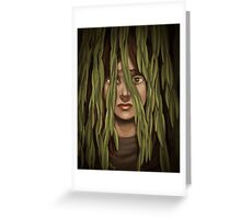 Willow Girl Greeting Card