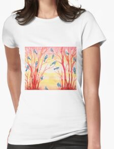 warming  Womens Fitted T-Shirt