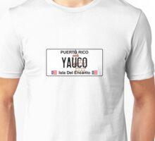 PR License Plate - Yauco Unisex T-Shirt