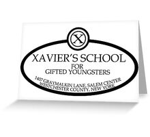 Xavier's School Greeting Card