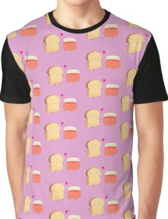 Bread loves jam Graphic T-Shirt