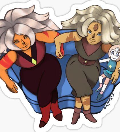 Jasper and Pearl  Sticker