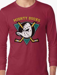 MIGHTY DUCKS Long Sleeve T-Shirt