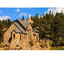 Chapel On The Rock Photographic Print