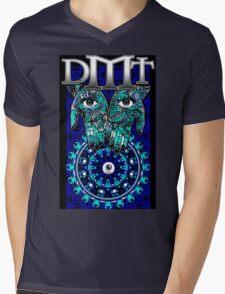 """DMT - Blue """"In gods Hands"""" Mens V-Neck T-Shirt"""