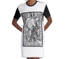 Inside My Head Graphic T-Shirt Dress