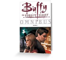 Buffy The Vampire Slayer Omni Bus Greeting Card