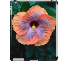 Shades of Orange and Purple Pedals iPad Case/Skin