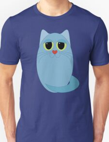 CAT BLUE ONE Unisex T-Shirt